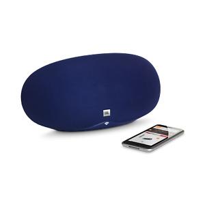 JBL Playlist Wireless Speaker w/ Bluetooth Wi-Fi & Chromecast - Blue / White