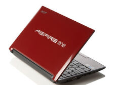 Red Acer Aspire One D255E 1.66GHz / 2GB RAM / 250GB HDD / Win 7 +  COA