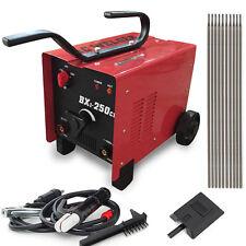 250AMP Welder 110/220V AC ARC Welding Machine 250 Amp w/ Mask Accessories Red