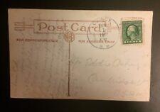 Rumney NH Postcard Quincy DPO Postmark 1917