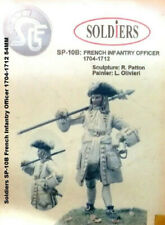 Soldiers SP-10B French Infantry Officer 1704-1712 54MM