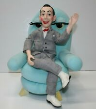 Pee-wee Herman Doll and Chairry Plush Toy 1988 Matchbox