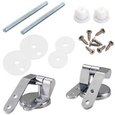 strong toilet seat hinges. 2pcs Zinc Alloy Toilet Seat Replacement Repair Chrome Hinge Set Universal  Strong Hinges Seats eBay