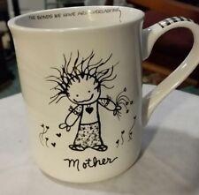 Mothers Day Enesco Children of the Inner Light Mother Stoneware Gift Mug