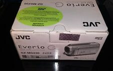 NEW JVC Everio GZ-MG230 Flash Media, Hard Drive Camcorder SILVER