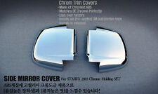 Chrome side mirror garnish Molding For Hyundai H1/starex /New Starex (2002~06)//