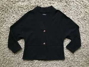 Womens Stunning Elemente Clemente by OSKA Wool Blazer / Jacket - Size 2 / Medium