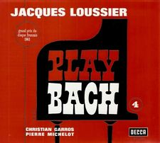 Jacques Loussier - Play Bach N°4 (CD 2000) Remastered Reissue; FREE UK P&P