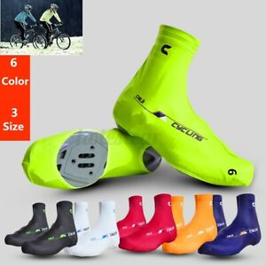 Bicycle Bike Cycling Shoe Covers Zippered Protector Overshoes Sportswear Warm UK