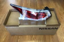 New OEM Nissan Altima 2015 LH Tail Lamp Assy Rear Combo w/o LED 26555-9HM0A