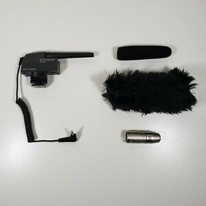 Sennheiser MKE400 Microphone with Wind Muffs and XLR Adapter