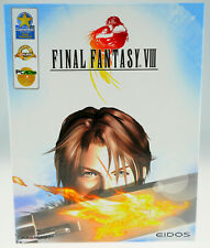 Final FANTASY VIII 8 COMPLETA IN SCATOLA ORIGINALE CIB per il computer PC