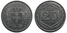 20 centesimi 1919 Esagono rigato SPL