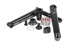 ODYSSEY THUNDERBOLT BMX CRANKS SET 165 RHD BLACK BIKE 22 MM 22MM CRANK 165mm BB
