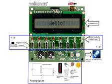KIT ELECTRONIQUE EDUCATIF INFORMATIQUE TUTERIEL USB EXPERIENCE ORDINATEUR