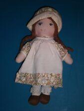 Vintage Holly Hobbie Heather American Greetings Cloth Doll by Knickerbocker 9in