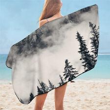 Foggy Forest Tree Nature Beauty Wild Travel Holiday Beach Bath Summer Towel