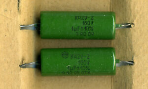 Lot of 2 pcs K42Y-2 0.022uF 630V Metallized Paper in Oil Capacitors NOS Tested