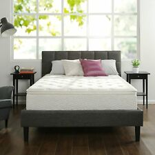 "12"" Inch Twin Size Box Full Spring Frame Foam Mattress Set Topper Bed Frame Air"