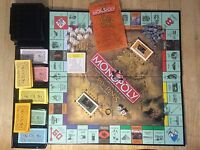 The Lord Of The Rings Monopoly Trilogy Edition Game Parker Bro Complete