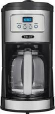 Bella - Classics 12-Cup Coffee Maker - Chrome/Black