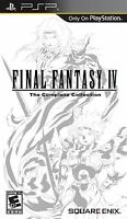 Final Fantasy IV The Complete Collection Sony PSP Brand New