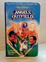Disney's ANGELS IN THE OUTFIELD (VHS 1994) Protective Clamshell Case - Like New!