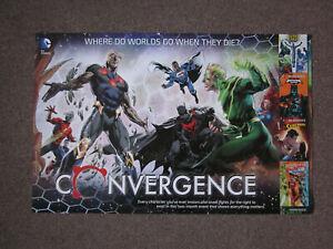 DC Comics Convergence DC Universe Batman Superman DC Comics SuperheroPoster34x22