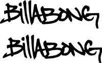 Billabong logo III Sticker Decal  CAR VAN WINDOW JDM VW DUB  SURF VINYL T4 T5