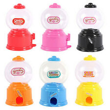 Gumball Saving Coin Box Cute Mini Candy Machine Dispenser Bubble Baby Kids Gift