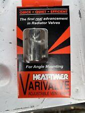 Heat-Timer Varivalve 925005-00 Adjustable Angle Air Valve Radiator Vent