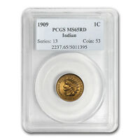 1909 Indian Head Cent MS-65 PCGS (Red) - SKU #88817