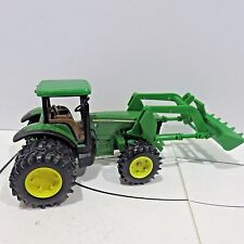 "John Deere Diecast Duly Front Loader Toy #8240, 9.5"" Long Used no Box"