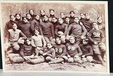 1895 Yale Football Team w/ Burr Chamberlain & Gordon Brown, Orig. Cabinet Photo