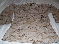 USMC Desert Marpat Camouflage Combat Shirt size Medium Regular