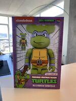 Medicom BE@RBRICK TMNT Donatello 100% 400% Bearbrick Figure Set In Hand Rare