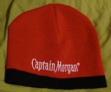 565dda6122c06 Captain Morgan Rum - Knit Winter Style hat - cap..Red   Black.