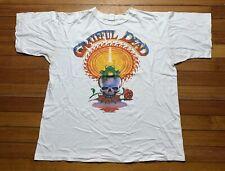 Vintage 1987 Grateful Dead Concert Tour Shirt California XL