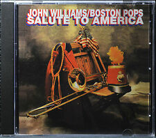 Salute to America by John Williams/Boston Pops [US Import - 1996] - MINT