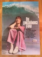 Linkshändige Frau (Kinoplakat/Filmplakat '78) - Peter Handke / Edith Clever