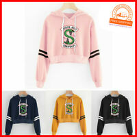 RIVERDALE South side Serpent Damen Kapuzenpulli Sport Pullover Sweetshirt