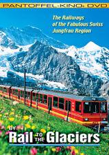 By Rail to the Glaciers Fabulous Swiss Jungfrau Region, Railroad DVD