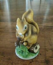 Vintage Flambro Squirrel Figurine