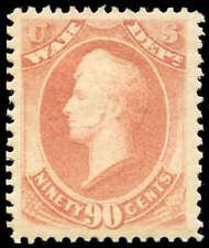 momen: Us Stamps #O93 Mint Og Xf