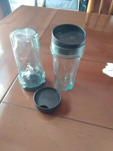 Ninja Bullet Blender Replacement cup and blades PLUS Container
