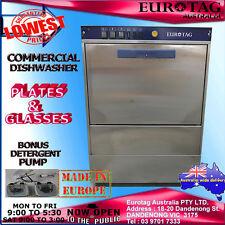 EUROTAG Commercial Undercounter Dishwasher BrandNew Cafe Bar Restaurant $$$$