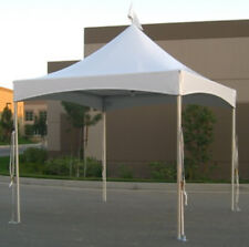 10x10 white Commercial Tent Top and Frame