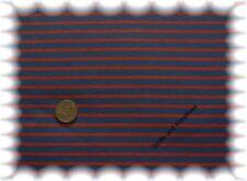 Campan Jersey dunkelblau,orange 50 cm Streifenjersey Hilco Streifenstoff Stoffe