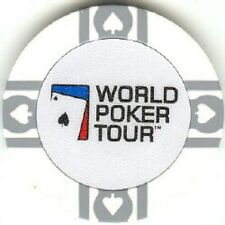 3 pc 10 gm clay WPT poker chips samples set #106 - Flawed