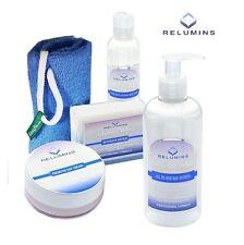 Relumins Advance White Face & Body Set-Day Cream,Toner,Soap,Soap Net,Day Lotion